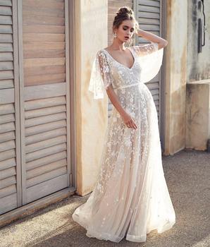 Robe de Mariée Bohème Chic Iris
