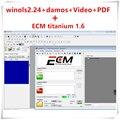Лидер продаж 2020, разблокированный патч Winols 2,24 + Damos-файлы + видео + Руководство пользователя + Ecm Titanium 26000 драйверы, ссылка для скачивания или ко...