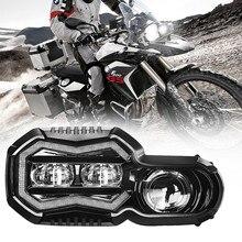 E24 mark รถจักรยานยนต์ไฟหน้าสำหรับ BMW F 650 700 800 GS F800R F800gs Adventure LED ชุดไฟหน้าโปรเจคเตอร์ Hi/lo Beam