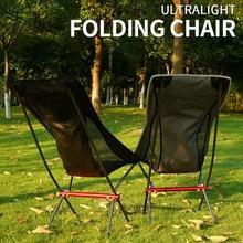 2 pçs/lote ultraleve portátil dobrável cadeira de acampamento ao ar livre cadeiras de pesca em casa piquenique cadeira churrasco dobrável assento ferramentas