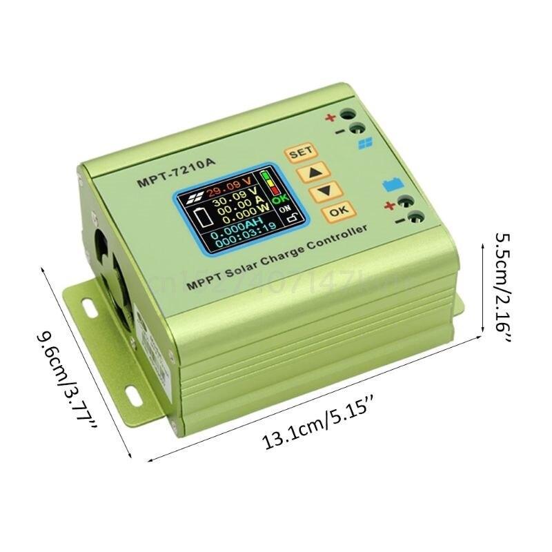 Controlador de carga solar mppt para a
