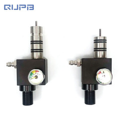 Paintball Z válvula buceo adaptador 300bar/4500psi entrada salida distancia 16MM