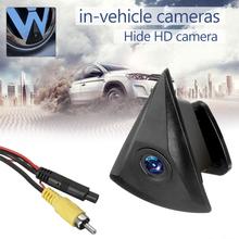 Kamera cofania kamera tylna Logo wodoodporna 170 stopni Volkswagen Passat HD kamera samochodowa monitorująca strefę przednią samochodowa kamera cofania tanie tanio OUIO CN (pochodzenie) 10 m Plastikowe + Szkło Drutu Tył Z tworzywa sztucznego