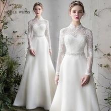 Wedding Dress  Floor-Length  A-Line  Organza  Wedding Dresses  Vestido De Noiva  Simple Wedding Dress