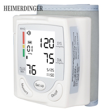 Automatic Wrist Blood Pressure Monitor Digital LCD Wrist Cuff Sphygmomanometer Health Care Machine With CE certification digital automatic wrist blood pressure monitor lcd wrist cuff blood pressure meter rechargeable sphygmomanometer ce certificatio