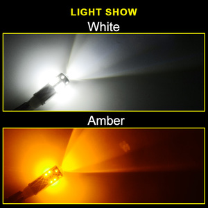 Image 5 - NAO W5W LED T10 5W5 3W 1000LM Super Bright Car Clearance Light LED Lamp for Auto 12V 6000K High Quality 194 White Amber 168 Blub
