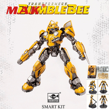 New 9.2CM Deformation toy King Kongs movable assembly model yellow bee hot Sale Children Toys For Collection the autobots deformation toys king kong police series red alert toy ambulance to toys for children