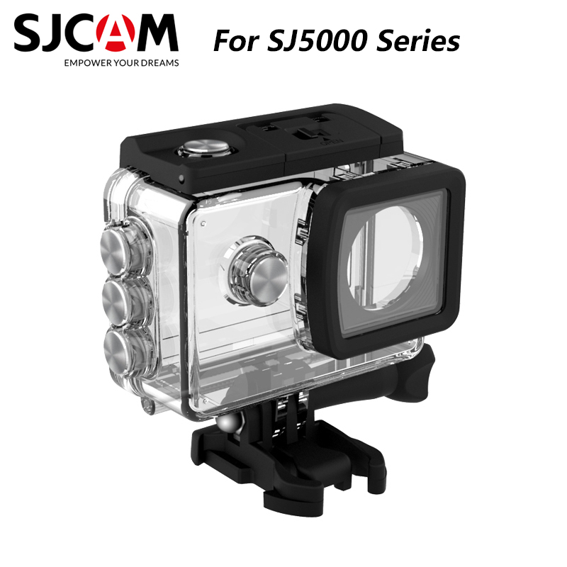 SJCAM Accessories Underwater Housing Waterproof Case 30M Diving For SJ5000 / SJ5000 WIFI SJ5000 Plus SJ5000X Elite Action Camera