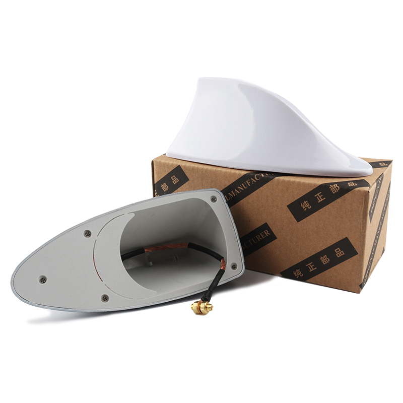 Image 3 - Car Shark Fin Signal Aerials Antenna Universal For Lada Vesta Granta For Kia Rio Car Styling Radio Signal Aerials Roof Antennas-in Aerials from Automobiles & Motorcycles