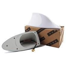 רכב סנפיר כריש אות אנטנות אנטנה אוניברסלי עבור Lada Vesta Granta עבור קאיה ריו רכב סטיילינג רדיו אות אנטנות גג אנטנות