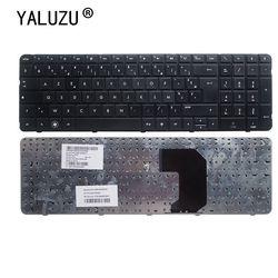 Французская клавиатура YALUZU для HP Pavillion G7, клавиатура AZERTY для HP Pavillion G7, с клавиатурой, черного цвета, с клавиатурой, для HP, Pavillion, G7, G7T-1000, R18, G7T, ...