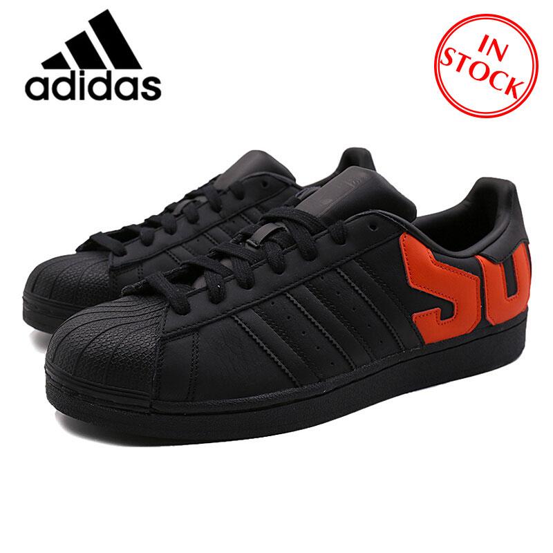 Oficial Oficial Clássico SUPERSTAR Adidas Autênticos Sapatos de Skate dos homens Das Sapatilhas Casuais Leves Conforto B37978
