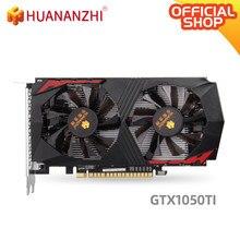 HUANANZHI GTX 1050TI 4G tarjeta de gráficos 128Bit GDDR5 DVI DP HDMI Compatible con 14Nm 768nits GTX 1050TI 4G Video Coche