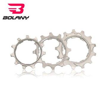 BOLANY bicicleta rueda libre 1 Uds bicicleta de carretera Cog MTB 8 9 10 11 velocidad 11T 12T 13T bicicleta rueda libre piezas para Cassette SRAM Compatible