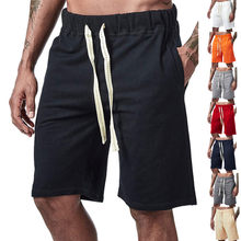New Men Fitness Loose Sports Shorts Bodybuilding Joggers Summer Bermudas Short Pants Male Casual Fashion Beach Brand Sweatpants