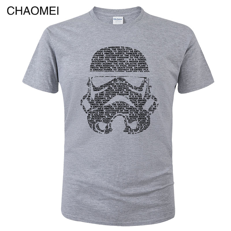 Star Wars T Shirt Men Funny Darth Vader T-shirt Starwars Porg Stormtrooper Bb8 Cotton Tops Tee Clothes Star-wars Tshirt C92