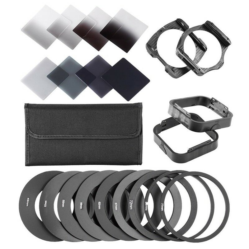 Platz Neutral Dichte <font><b>Nd</b></font> 2 4 8 <font><b>16</b></font> <font><b>Filter</b></font> Kit für Cokin P + Halter + Adapter Ringe image