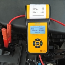 Battery Tester MICRO-300 Car Battery Tester 12V Digital Auto Car Battery Load Tester With Printer For CCA Battery Tester Tool