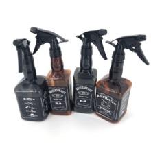 500 мл/650 мл спрей для укладки волос бутылка салон парикмахерские инструменты для волос водяной опрыскиватель Ретро виски масляная голова Лейка