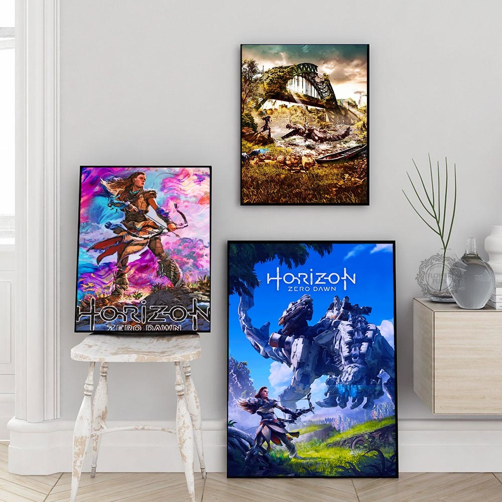 Game of thrones Movie Anime Art Silk Canvas Poster Print 24x36 inch Home Decor