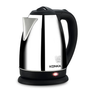 KONKA Electric Kettle 1000W Kitchen Water Boiler Stainless Steel Tea Pot Auto Power-off ProtectionTeapot Instant Heating