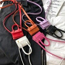 Яркие цвета супер мини сумки через плечо для женщин дизайнерская модная сумка через плечо женские кошельки и сумочки для ключей
