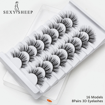 Sexy 4/8 pairs 3D Mink Natural False Eyelashes Our Best Sellers Cosmetics
