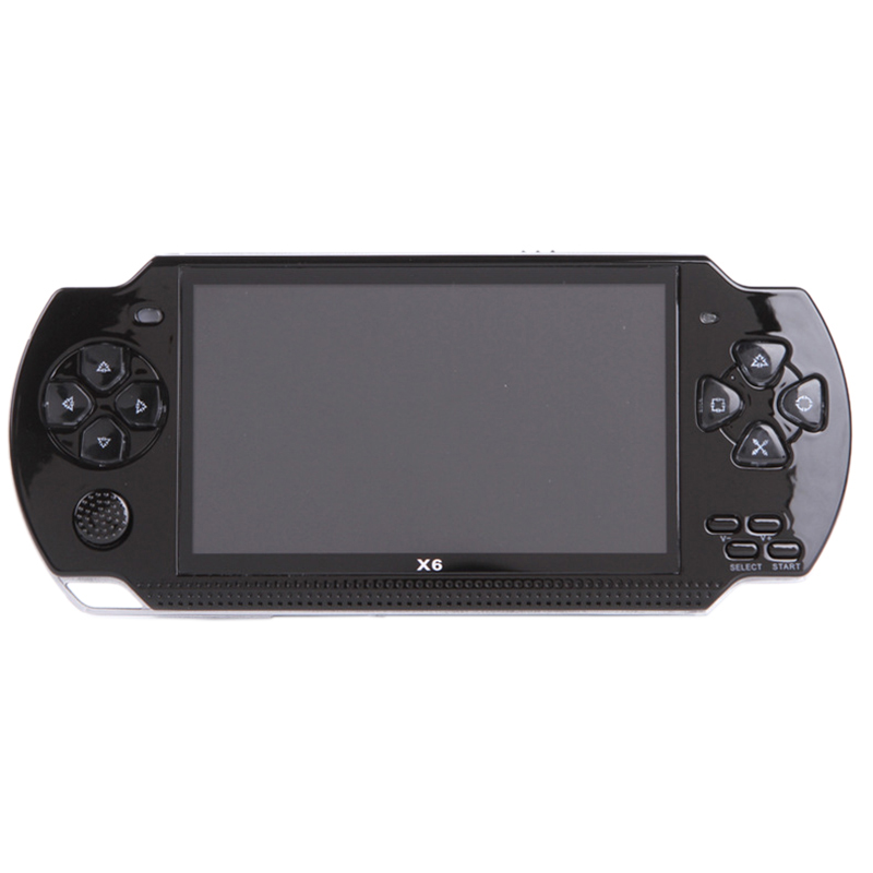 Coolbaby X6 Children Handheld Game Players 8G 4.3 Inch Mp4 Video Game Console Tv Out Game Player Support For Camera Video E-Book