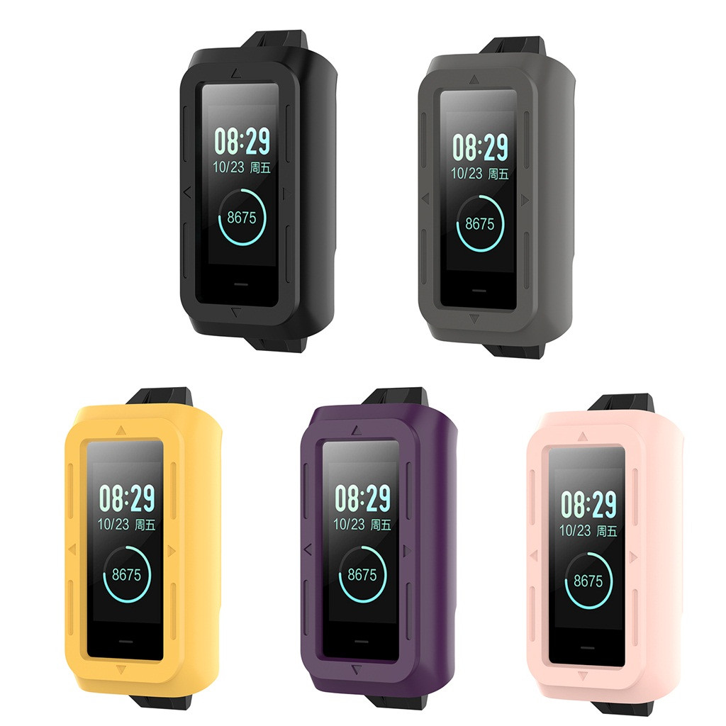 2020 silicone Original sport watch <font><b>band</b></font> Case Cover Shell Silicone Frame Protective for <font><b>Xiaomi</b></font> <font><b>Huami</b></font> <font><b>Amazfit</b></font> <font><b>COR</b></font> <font><b>2</b></font> <font><b>Band</b></font> #40 image
