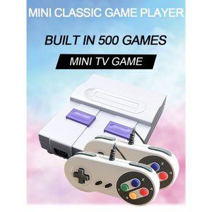 Image 1 - 1Set Super Mini 8Bit Spiel Konsole Retro Handheld Gaming Player mit 500 Spiele