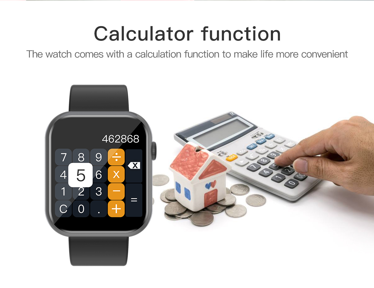 COLMI P9 Unisex Smart Watch IP67 Waterproof for iOS Android Phones 5