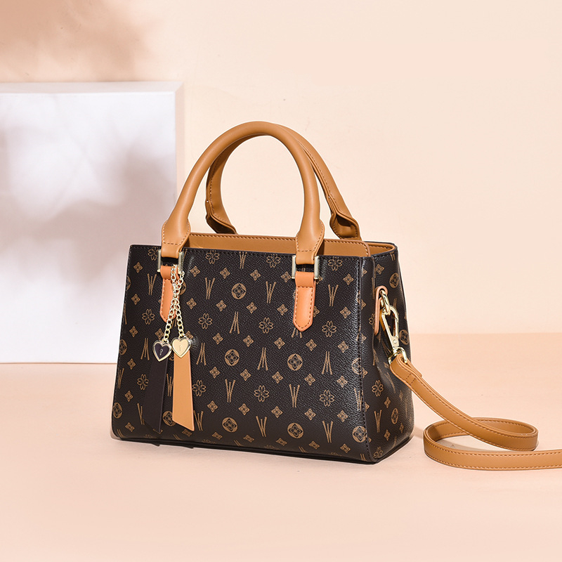 Новинка 2021, модная сумка на одно плечо, качественная сумка через плечо из спилковой кожи для женщин, известный бренд, женские сумки с клапано...