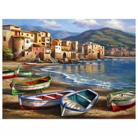 Home Decoration Painting Oil Painting 40 * 50cm TCR3048 DIY Digital Oil Painting 40 * 50CM Hand painted