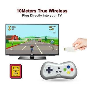 Image 5 - Mini ręczny telewizor z dostępem do kanałów i HDMI gra wideo konsola do gier podwójny 2.4G bezprzewodowy kontroler do gier 8 Bit Retro odtwarzacz z 500 w 1 klasyczne gry