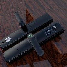 Smart Keyless Biometric Fingerprint Door Lock With Touch Screen Keypad Combination Password Card Unlocking Way