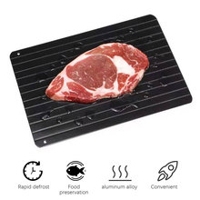 Fast defrost tray fast defrost frozen meat fish seafood quick defrost plate tray kitchen gadgets transportation kitchen Thawing hawksmoor at home meat seafood sides breakfasts puddings cocktails