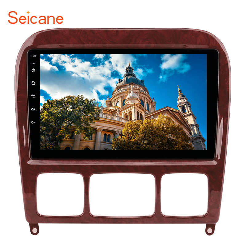 Seicane 2Din Car Multimedia Player <font><b>GPS</b></font> 9inch <font><b>For</b></font> 1998-2005 <font><b>Mercedes</b></font> Benz S Class W220 S280 S320 S350 S400 S430 <font><b>S500</b></font> S600 S55 AMG image