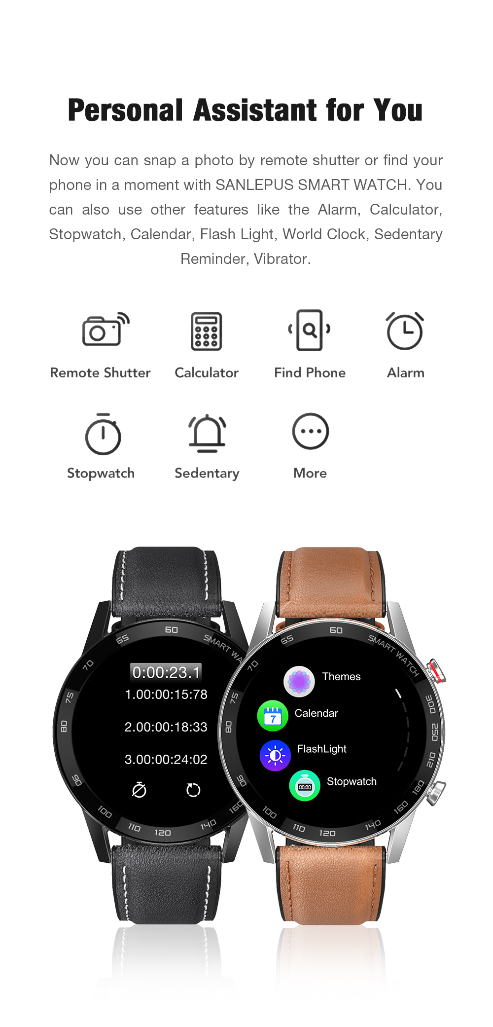Hb386a6c0da9d459e9a7df0b6814b8d5b1 2021 SANLEPUS ECG Smart Watch Dial Call Smartwatch Men Sport Fitness Bracelet Clock Watches For Android Apple Xiaomi