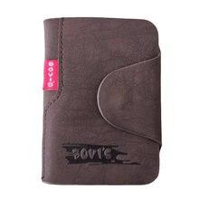 Kudian urso couro titular do cartão de visita sacos de capa de cartão de crédito ferrolho organizador de cartão mulher homem tarjetero bih003 pm49