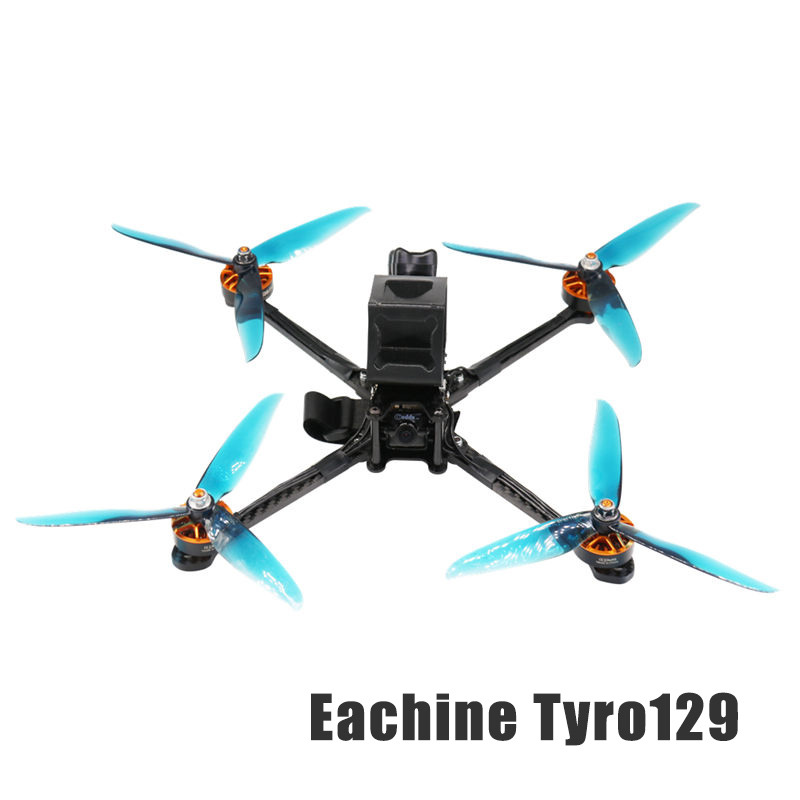 Tyro129 275mm FPV Racing Drone PNP F4 OSD DIY 7 Inch W/ GPS Caddx.us Turbo F2 Remote Control Toys RC Helicopters