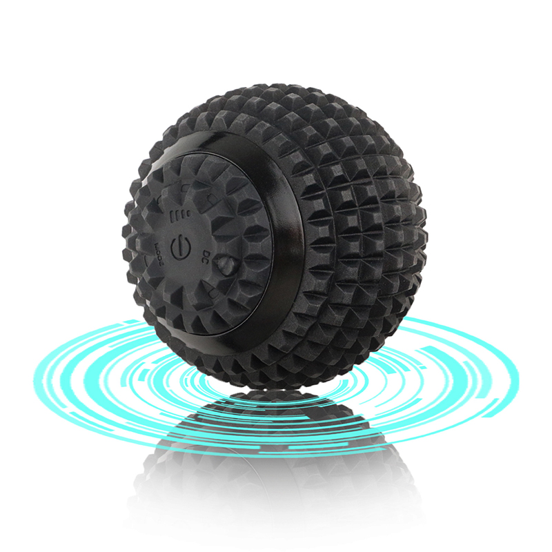 Electric Massage Ball Vibrate Function Help Body Therapy Good For Head Neck Back Waist Hip Foot Muscle Relax And Stress Release