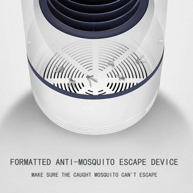 Led Mosquito Killer Lamp Low-voltage UV Light USB Insect Killer Bug Mosquito Trap Lantern Repellent Lamp Anti Mosquito Light Hot