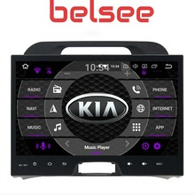 Belsee 2din Android 9.0 Auto Car Radio DVD Player Multimedia Head Unit for KIA Sportage 3 4 2010 2011 2012 2013 2014 2015 GPS Na