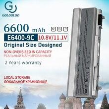 Golooloo 9 Cellen Nieuwe Laptop Batterij Voor Dell Latitude E6400 E6410 E6500 E6510 Voor M2400 M4400 M4500 Dfnch C719R FU571 KY265 R822G