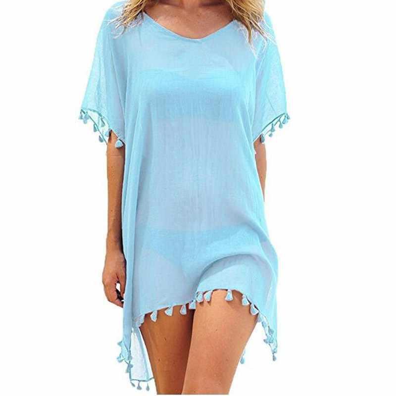 נשים ציצית ביקיני לחפות וחוף בגדי ים קפטן סרונג חוף שמלת עטלף שרוול בגד ים Biquinis Feminino Vestidos
