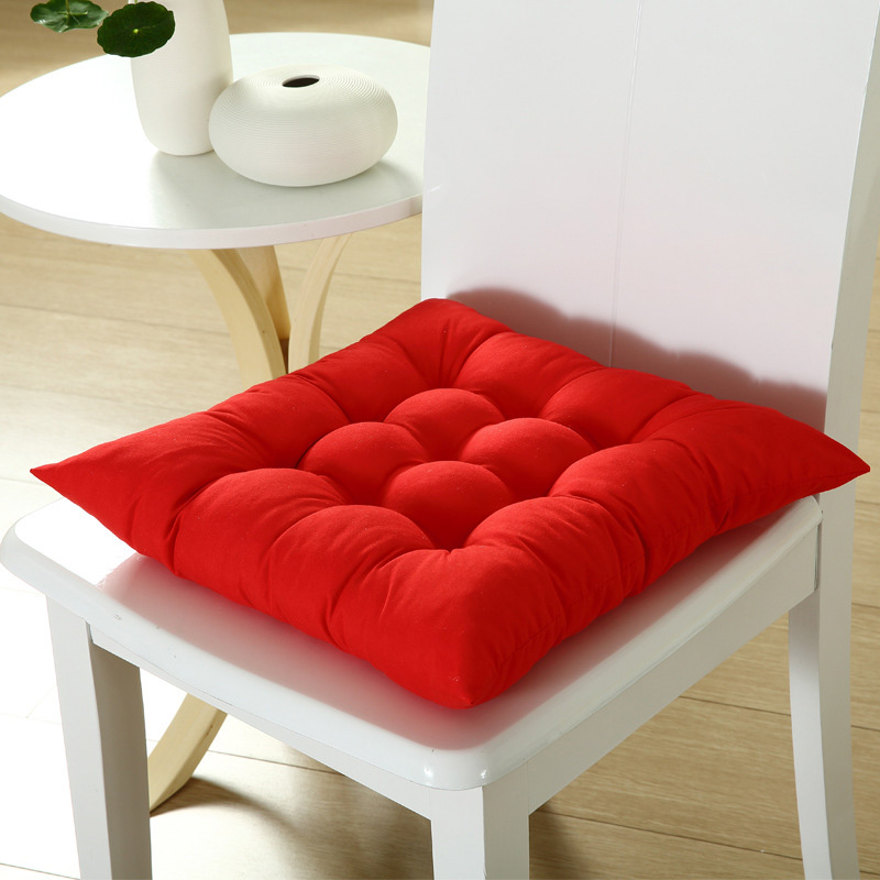 Seat Pad Chair Cushion Durable Elasticity 41x41cm Home Seat Pad  For Dining Garden Patio Home Kitchen Office
