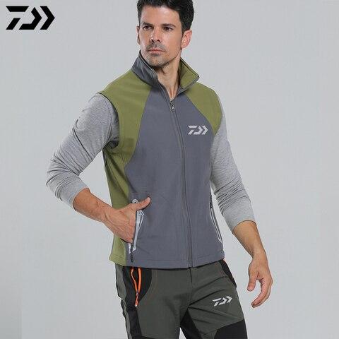 daiwa 2020 roupas jaqueta de pesca removivel manga acampamento ao ar livre esportes a prova