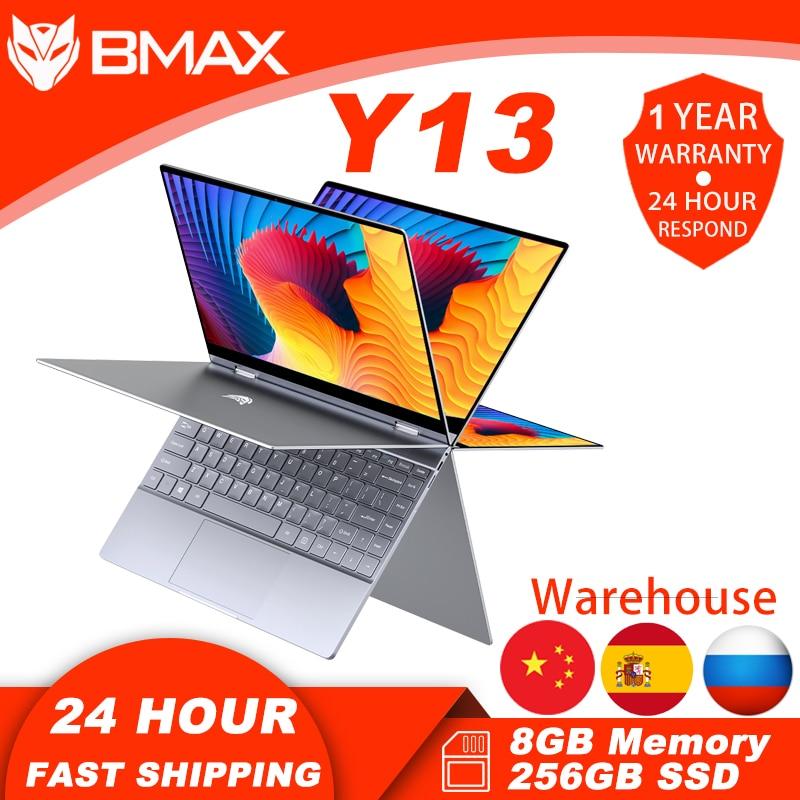 BMAX Y13  Notebook Computer 13 3 Inch 8GB RAM 256GB SSD Intel N4120 Laptops Window 10 1920     1020 Display with Blutooth Wifi