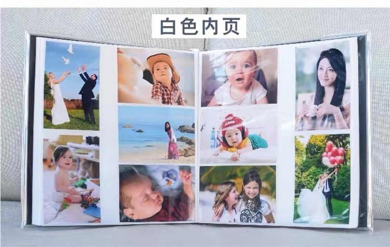 Nuevo álbum de Fotos de bolsillo de 6 pulgadas 600 tipo de página niños familia insertar álbum creativo de dibujos animados bebé crecer álbum de recortes de boda