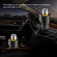 12 v portátil aquecimento congelamento ajustável bebida titular mini copo de refrigeração carro novo boutique quente|  -